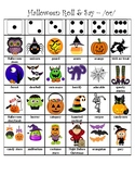 Halloween Articulation Roll & Say (Vocalic R - or)