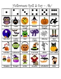 Halloween Articulation Dice Roll (Voiced and Voiceless /th/)