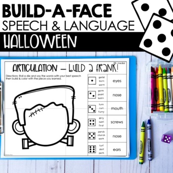 Halloween Articulation For Speech Therapy