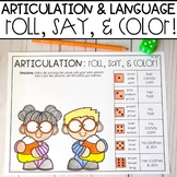 Halloween Speech Therapy | Articulation and Language NO PREP