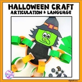 Halloween Articulation and Language Craft