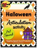 Halloween Articulation R Sound Activity!