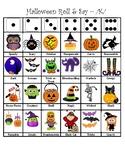 Halloween Articulation Roll & Say - /k/
