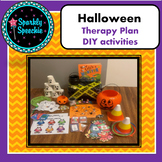 Halloween Articulation Speech Therapy Lesson Plan- FREE-EASY DIY Instructions