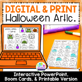 Halloween Articulation Worksheets