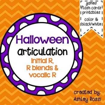 Halloween Articulation For R