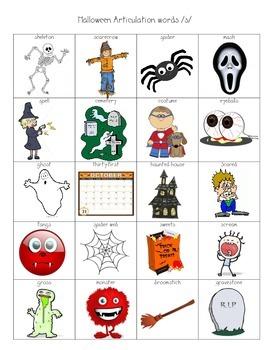 Halloween Articulation Pictures /s/
