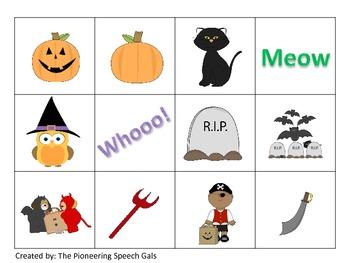 Halloween Association Cards