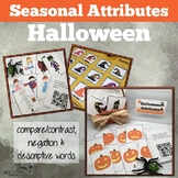 Attributes Game:  Halloween Compare/Contrast (includes Cariboo option!)
