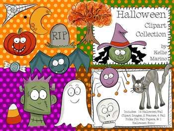 Halloween & Autumn Clipart Collection