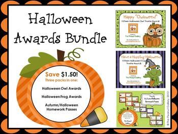 halloween awards teaching resources teachers pay teachers