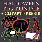 Halloween BIG Bundle!! {+Clip Art Freebie!}