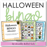 HALLOWEEN BINGO! {Differentiated For K-5th Grade }