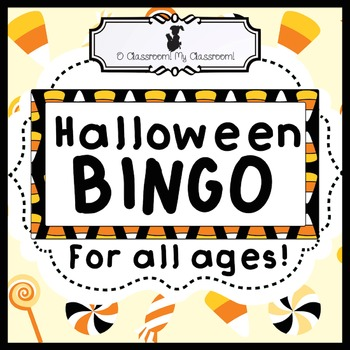 Halloween BINGO - A classic game with a NEW spin! Perfect