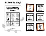 Halloween BINGO Activity (for Kindergarten to Grade 3)