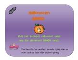 Halloween BINGO -PreK & K