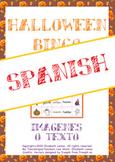 Halloween BINGO español: 4 tipos de cartas, tabla, fichas,