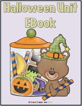Halloween Activities Math and Literacy Printables