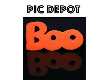 Halloween BOO Stock Photo
