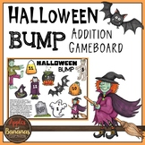 Halloween BUMP Addition Math Game - Freebie