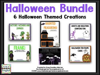 Halloween BUNDLE!  A Bundle of 6 Halloween Creations!