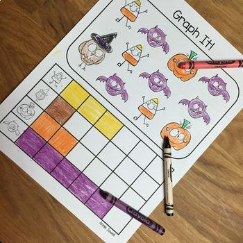 Halloween BUNDLE Kindergarten and 1st Grade 4 Products