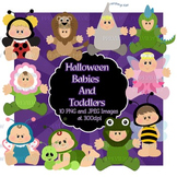 Halloween Babies and Toddlers