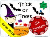 Halloween Bag -  Interactive Carrier Phrase Speech & Language Game
