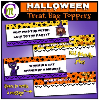 Halloween Treat Bag Topper FREEBIE