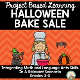 Halloween Bake Sale Project Based Learning