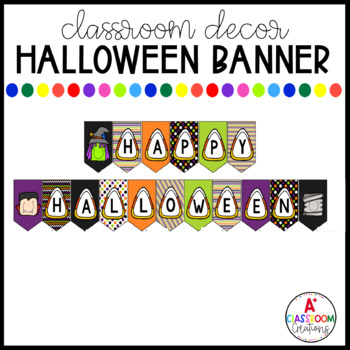 image about Halloween Banner Printable referred to as Halloween Banner