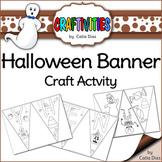 Halloween Banner - Craft Activity