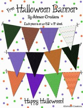 Halloween Banner by Johnson Creations