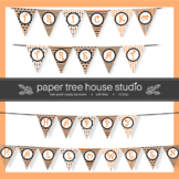 Two Halloween Banners Bundle - Two Full Size Print Ready P