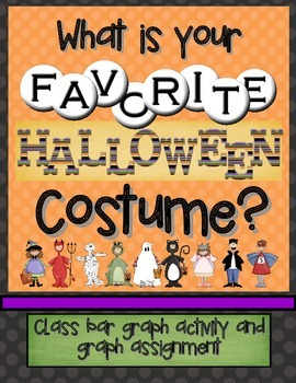 halloween bar graph what is your favorite halloween costume