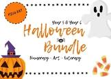 Halloween Bargain Bundle Numeracy Art Literacy