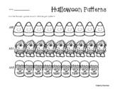 Halloween Basic Patterns Coloring Practice