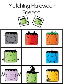 Halloween Basic Skill Flipbooks