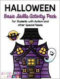 Halloween Basic Skills Activity Pack