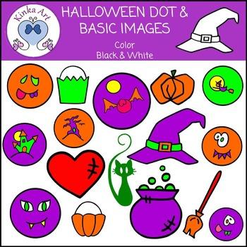 Halloween Basic and Dot Clip Art