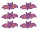 Halloween Bat Alphabet Letter Matching Puzzle Games or Center Activities