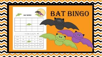 Halloween Bat Bingo