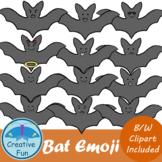 Halloween Bat Emojis