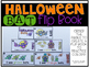 Halloween Bat Flip Book