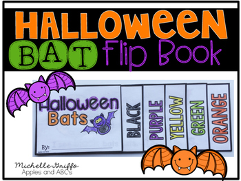 Halloween Bat Flip Book