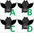 Halloween/Bat Theme Alphabet Letters