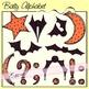 Halloween Bats Alphabet