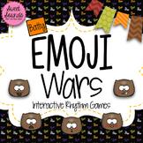 Halloween Bats Emoji Wars Ta Tadi Titi {Interactive Rhythm Game}