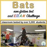 Halloween: Bats Informational Reading and Make a Bat STEM