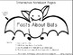 """Halloween: """"Bats at the Beach"""" Rhyming words games and more!"""